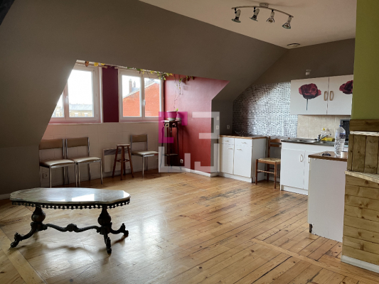 Appartement 2 chambres 53,79m²